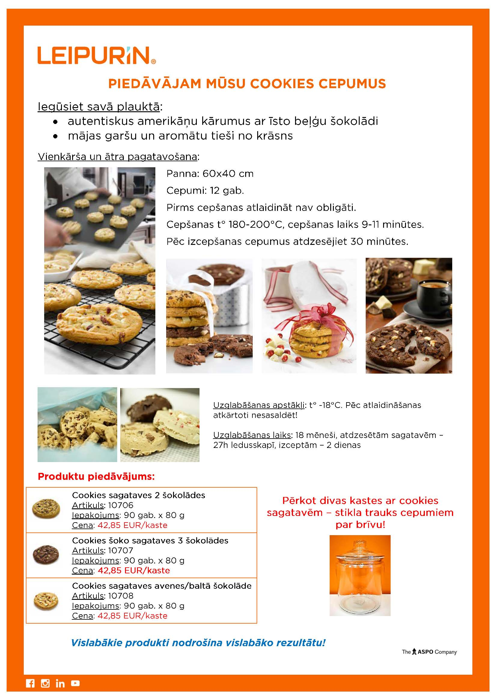 2020.02.10 Cookies sagataves - aatri sasaldeetas
