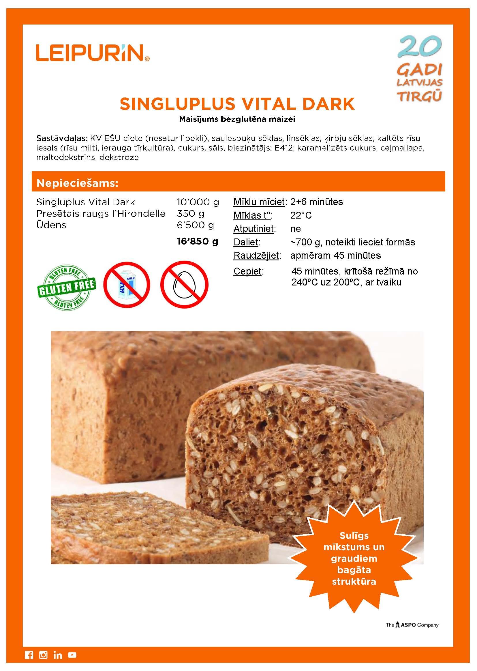 2019.05.31 Bezgluteena tumshaa graudu maize