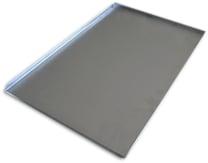 80011 Alumīnija plāts 60x40x1,7 cm (3 malas)
