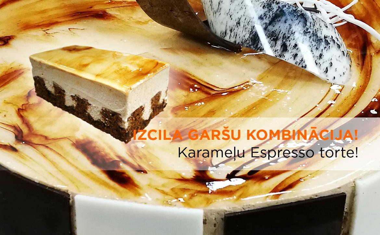 2018.01.11 Karamelju Espresso torte