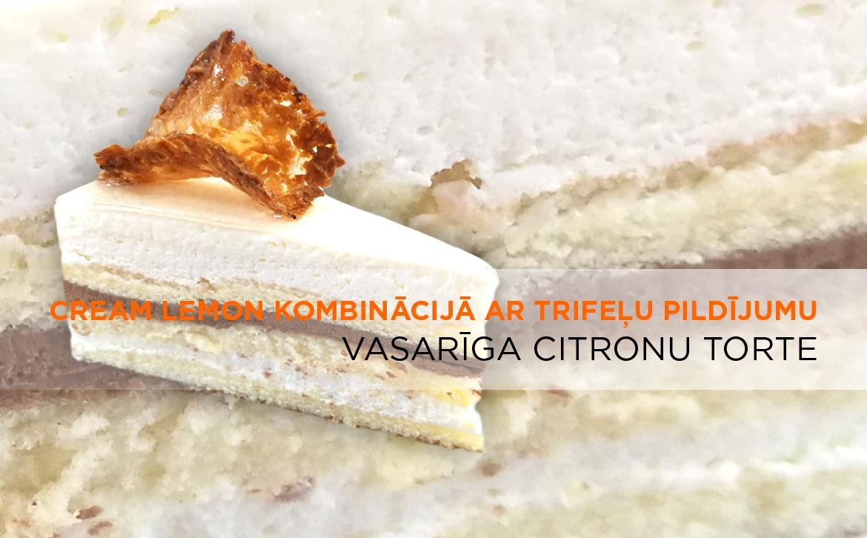 2018.05.15 Vasariiga citronu torte